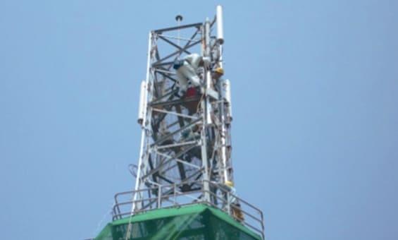 携帯電話基地局工事