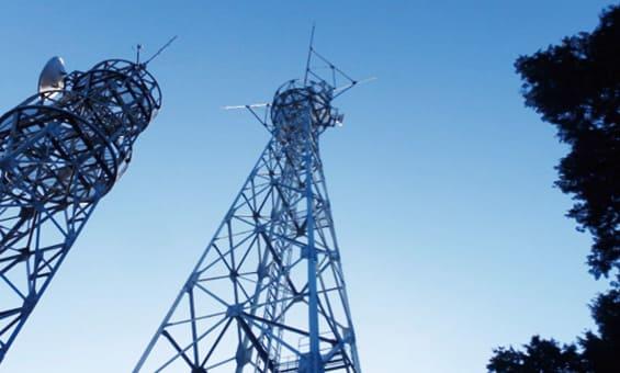 防災情報ネットワーク工事