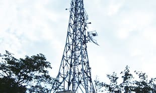 防災情報ネットワーク工事 事例1